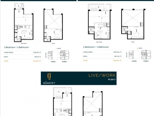 The Quartet Live/Work Units For Sale in Sidney, BC